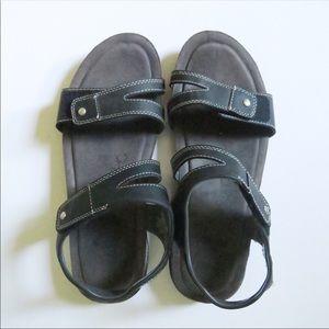 Khombu Solace Ava Strap Sandals Black Size 9